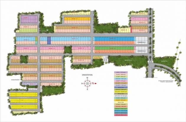 1200 sqft, Plot in Builder GOLF GREENS Old Dhamtari Road, Raipur at Rs. 14.3000 Lacs