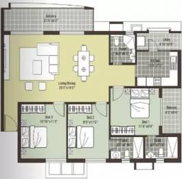 1430 sqft, 3 bhk Apartment in Arihant Escapade Thoraipakkam OMR, Chennai at Rs. 85.0000 Lacs
