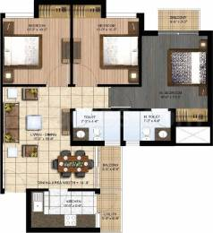 1130 sqft, 3 bhk Apartment in Paras Seasons Sector 168, Noida at Rs. 25000