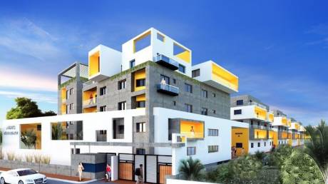 1270 sqft, 2 bhk Apartment in ADI North Lake Jakkur, Bangalore at Rs. 59.6900 Lacs