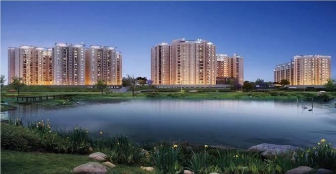 878 sqft, 2 bhk Apartment in Brigade Lakefront ITPL, Bangalore at Rs. 88.9770 Lacs