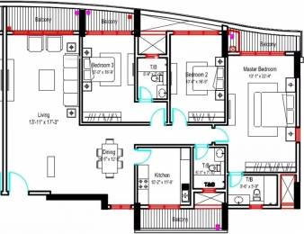 2303 sqft, 3 bhk Apartment in Phoenix City The Crest Velachery, Chennai at Rs. 3.3500 Cr