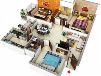1417 sqft, 3 bhk Apartment in Builder Project Mansarovar, Jaipur at Rs. 47.8100 Lacs