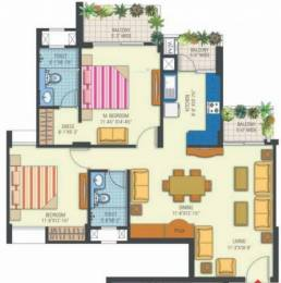 1325 sqft, 2 bhk Apartment in Manglam Rangoli Greens Panchyawala, Jaipur at Rs. 45.0500 Lacs