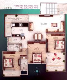 1601 sqft, 3 bhk Apartment in Builder Orchid Emerald Amrawati road, Nagpur at Rs. 81.5000 Lacs