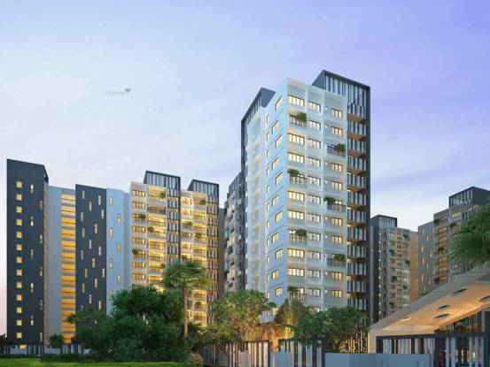 1196 sqft, 2 bhk Apartment in DSR Waterscape Horamavu, Bangalore at Rs. 60.0000 Lacs