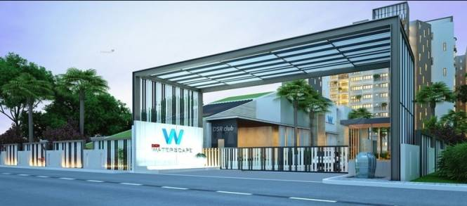 1190 sqft, 2 bhk Apartment in DSR Waterscape Horamavu, Bangalore at Rs. 59.0000 Lacs