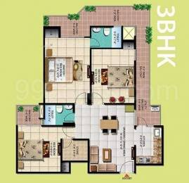 1160 sqft, 3 bhk Apartment in Windsor Paradise 2 Raj Nagar Extension, Ghaziabad at Rs. 40.0000 Lacs