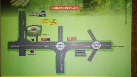 960 sqft, Plot in Builder Adinath Green valley Gwalior Road, Agra at Rs. 7.4600 Lacs