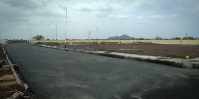 1648 sqft, Plot in Builder Project Tadikonda, Guntur at Rs. 27.4500 Lacs