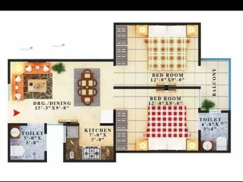 960 sqft, 2 bhk BuilderFloor in SVS Select Lotus Shahberi, Greater Noida at Rs. 18.7000 Lacs
