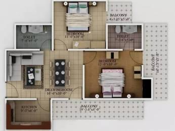 975 sqft, 2 bhk Apartment in Javin Raj Empire Raj Nagar Extension, Ghaziabad at Rs. 27.0000 Lacs