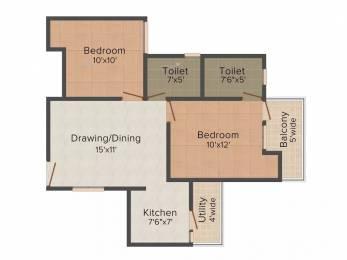 935 sqft, 2 bhk Apartment in VVIP Addresses Raj Nagar Extension, Ghaziabad at Rs. 32.0000 Lacs