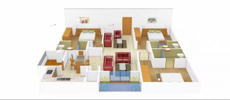 2420 sqft, 3 bhk Apartment in SMR Vinay Iconia Serilingampally, Hyderabad at Rs. 60000