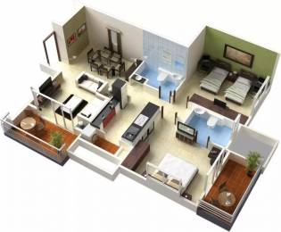 1206 sqft, 2 bhk Apartment in Pride Aloma County Aundh, Pune at Rs. 1.1500 Cr