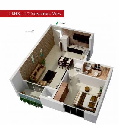 1500 sqft, 1 bhk Apartment in Shree Ram Umang Tonk Road, Jaipur at Rs. 12.0000 Lacs
