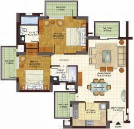 1446 sqft, 2 bhk Apartment in BPTP Freedom Park Life Sector 57, Gurgaon at Rs. 1.1500 Cr