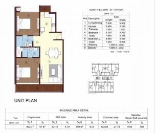1195 sqft, 2 bhk Apartment in Builder Sikka kimaya greens Sahastradhara Road, Dehradun at Rs. 56.0000 Lacs