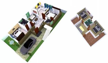 2000 sqft, 4 bhk Villa in KR Villa Park Kalapatti, Coimbatore at Rs. 56.0000 Lacs