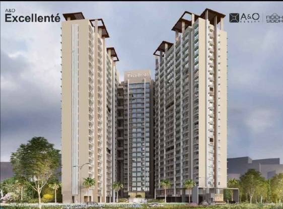 416 sqft, 1 bhk Apartment in  A And O Excellente Mulund West, Mumbai at Rs. 72.0000 Lacs