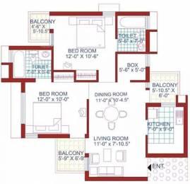 1107 sqft, 2 bhk Apartment in AWHO Sispal Vihar Sector 49, Gurgaon at Rs. 1.0000 Cr