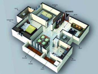 1105 sqft, 2 bhk Apartment in Builder Anandhaas Fun Mall Road, Coimbatore at Rs. 62.0000 Lacs