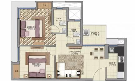 884 sqft, 2 bhk Apartment in Alcove New Kolkata Serampore, Kolkata at Rs. 24.0000 Lacs