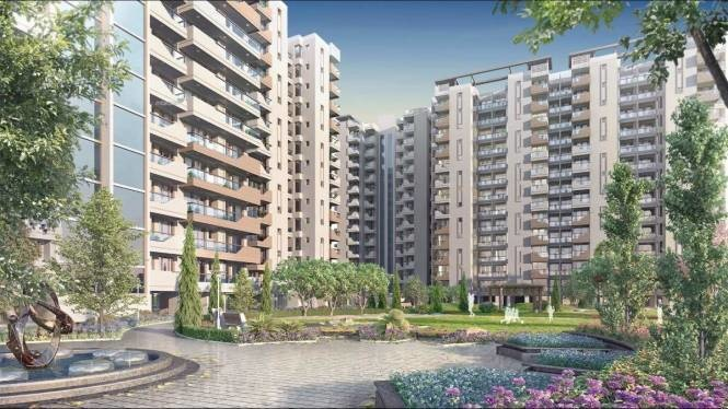 1728 sqft, 3 bhk Apartment in Builder Centra Green Pakhowal road, Ludhiana at Rs. 1.0364 Cr