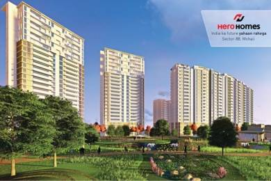 1290 sqft, 2 bhk Apartment in Hero Homes Sector 88 Mohali, Mohali at Rs. 62.4175 Lacs