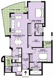 1753 sqft, 2 bhk Apartment in Spaze Privy Sector 72, Gurgaon at Rs. 26000