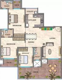 2100 sqft, 3 bhk Apartment in Hubtown Sunstone Bandra East, Mumbai at Rs. 4.8500 Cr