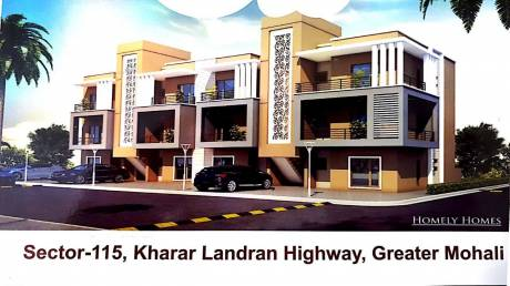 1050 sqft, 2 bhk BuilderFloor in Builder homaly home Sector 115 Mohali, Mohali at Rs. 22.9000 Lacs
