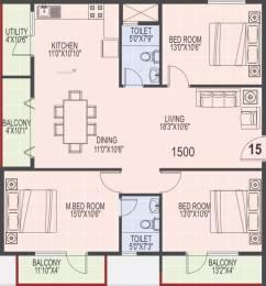 1500 sqft, 3 bhk Apartment in SLS Square Brookefield, Bangalore at Rs. 32000