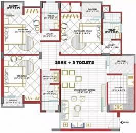 1680 sqft, 3 bhk Apartment in Goel Heights Matiyari, Lucknow at Rs. 12000
