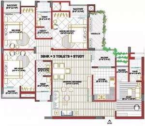 1875 sqft, 3 bhk Apartment in Goel Heights Matiyari, Lucknow at Rs. 10500