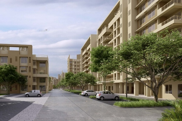 1505 sqft, 3 bhk Apartment in Builder Bloomdale Mahindra Life SpaceMihan Wardha Road, Nagpur at Rs. 67.5000 Lacs