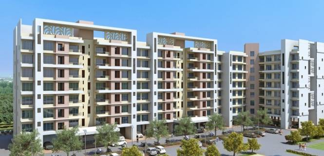 1050 sqft, 2 bhk Apartment in Mahindra Bloomdale Building 09 Mihan, Nagpur at Rs. 44.0000 Lacs