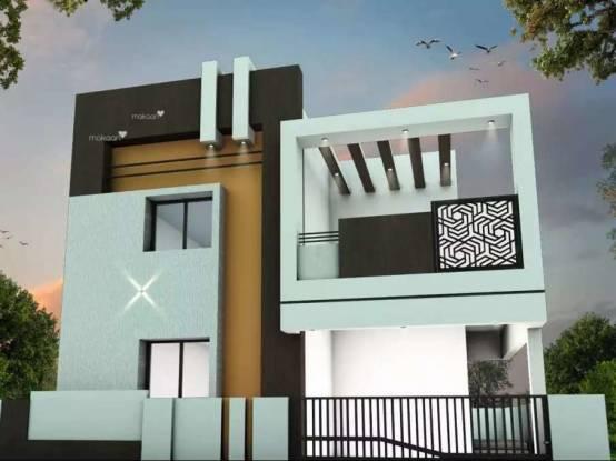700 sqft, 2 bhk Villa in Builder Sunrise Ruby Thoppampatti Pirivu, Coimbatore at Rs. 40.9777 Lacs