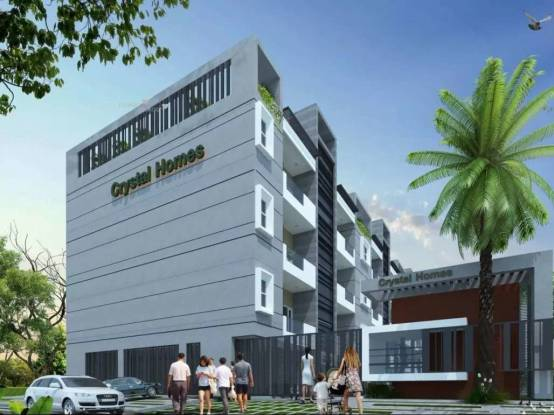 1378 sqft, 3 bhk Apartment in Builder crystalhomes Dhakoli Zirakpur, Chandigarh at Rs. 35.8146 Lacs