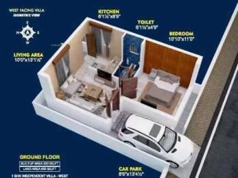 600 sqft, 1 bhk IndependentHouse in Builder PKR Sai garden Guduvancheri, Chennai at Rs. 17.9000 Lacs