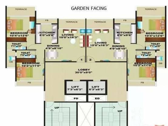 1160 sqft, 2 bhk Apartment in Bhagwati Imperia Ulwe, Mumbai at Rs. 1.1500 Cr