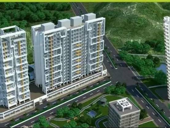 705 sqft, 1 bhk Apartment in Sanghvi Sanghvi S3 Ecocity Woods Mira Road East, Mumbai at Rs. 52.0000 Lacs