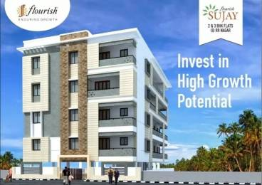 1522 sqft, 3 bhk Apartment in Builder Swasthik Flourish Sujay BEML Layout 5th Stage, Bangalore at Rs. 77.6220 Lacs