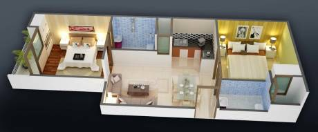 950 sqft, 2 bhk Apartment in Builder ambuj city Noida Extension, Greater Noida at Rs. 21.0000 Lacs