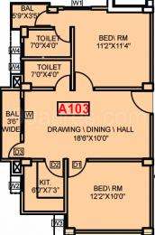 995 sqft, 2 bhk Apartment in Aastik Sai Amrita Enclave Danapur, Patna at Rs. 34.8250 Lacs
