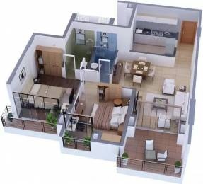 1350 sqft, 2 bhk Apartment in Tata Capitol Heights Rambagh, Nagpur at Rs. 33000