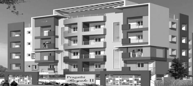 1350 sqft, 3 bhk Apartment in Pragathi Royale II Electronic City Phase 1, Bangalore at Rs. 47.2500 Lacs