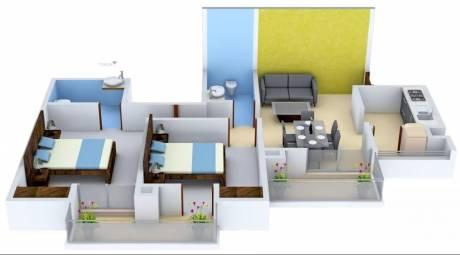 1100 sqft, 2 bhk Apartment in TATA Eureka Park Sector 150, Noida at Rs. 60.0000 Lacs