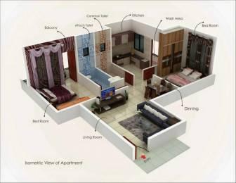 810 sqft, 2 bhk Apartment in Mahalaxmi Arcade Manish Nagar, Nagpur at Rs. 27.0000 Lacs