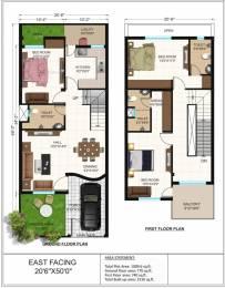 1510 sqft, 3 bhk IndependentHouse in Builder Amaltas Castle Kachna Road, Raipur at Rs. 39.8000 Lacs
